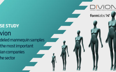 Divion – Modeled mannequin samples for the most important Italian companies in the sector