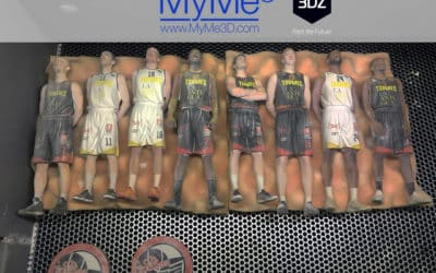 Myme3D makes miniatures using 3D Systems' 3D color printing.