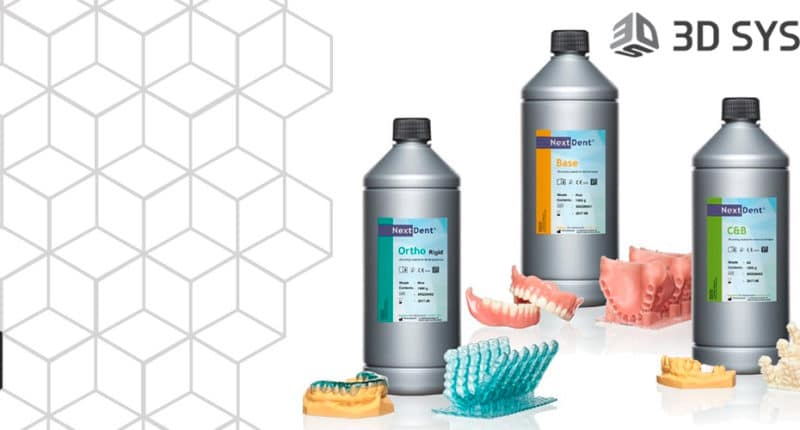 3DS transforms digital dentistry with the acquisition of Dental Materials Pioneer NextDent