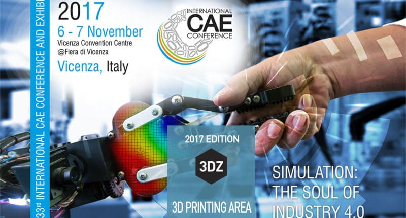 3D printing in Vicenza on 6 and 7 November 2017