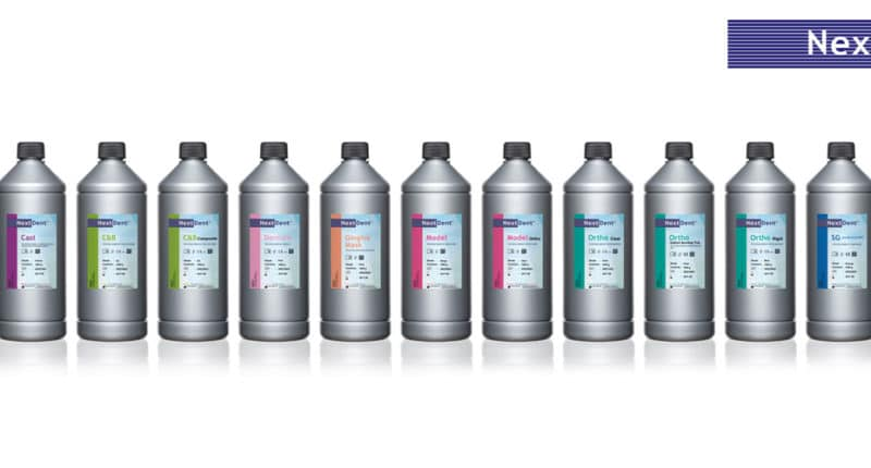 3DZ and Nexdent for dental – biocompatible resins and certified CE
