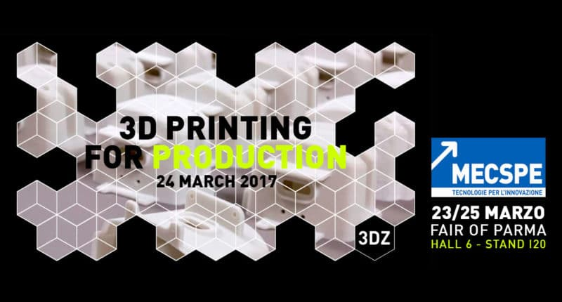 3D Printing for Production: Workshop MECSPE 2017