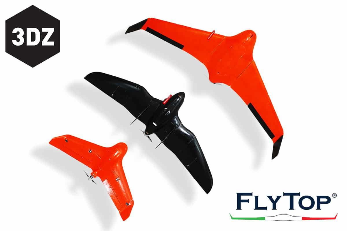 The 3D print takes wing with Flytop
