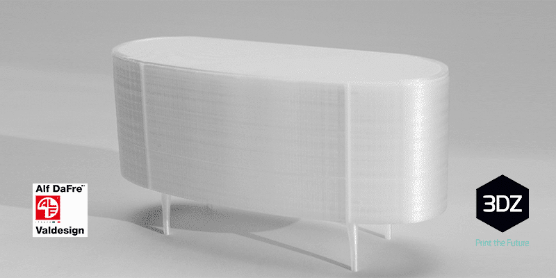 3D printing to shape living