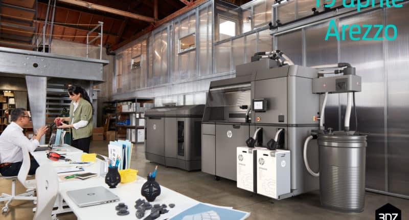 HP Multijet Fusion 3D Printer – Open House with HP team in Arezzo