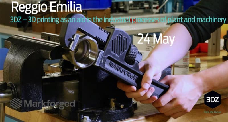 3DZ – 3D printing as an aid in the industrial processes of plant and machinery – Reggio Emilia