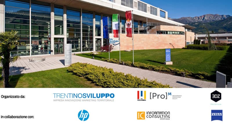 Open House – Trentino Sviluppo tells about the advantages of 3D printing with HP & 3DZ