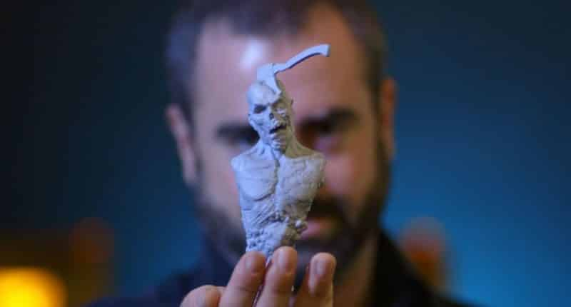Jared Krichevsky, the creatures creator who uses Form 2 from Formlabs