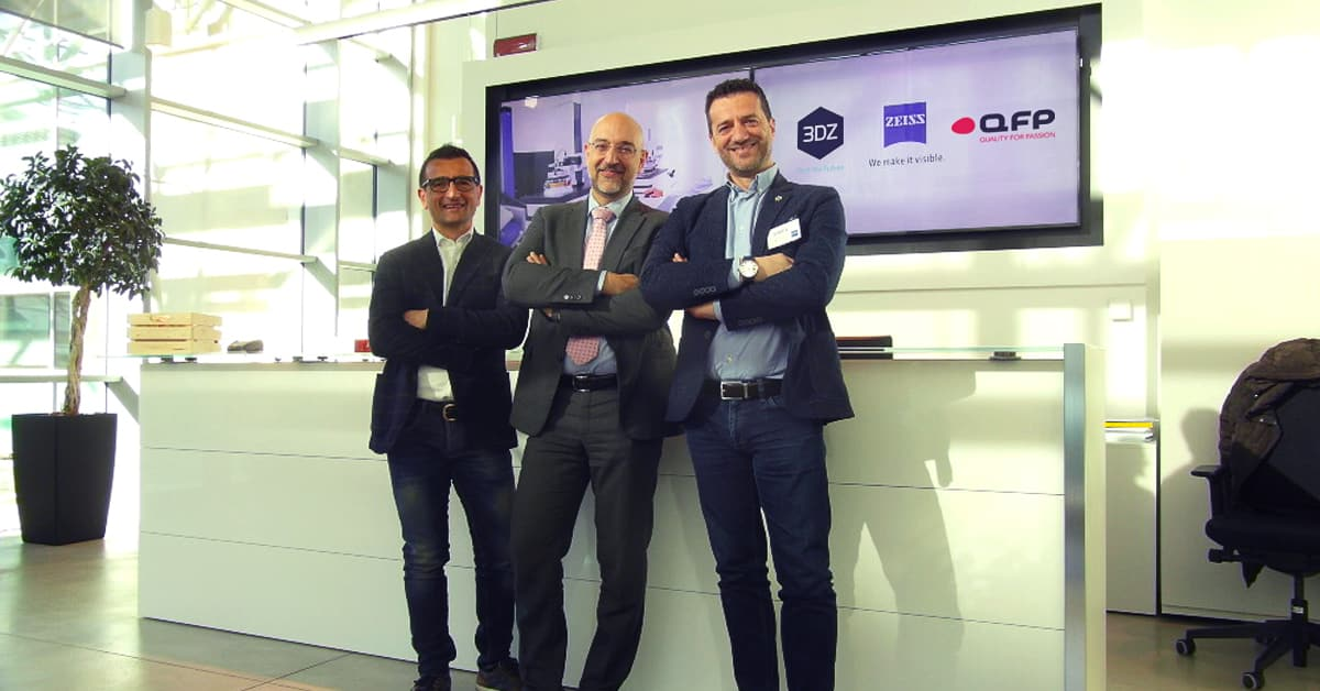3DZ announces collaboration with Zeiss and QFP in Italy