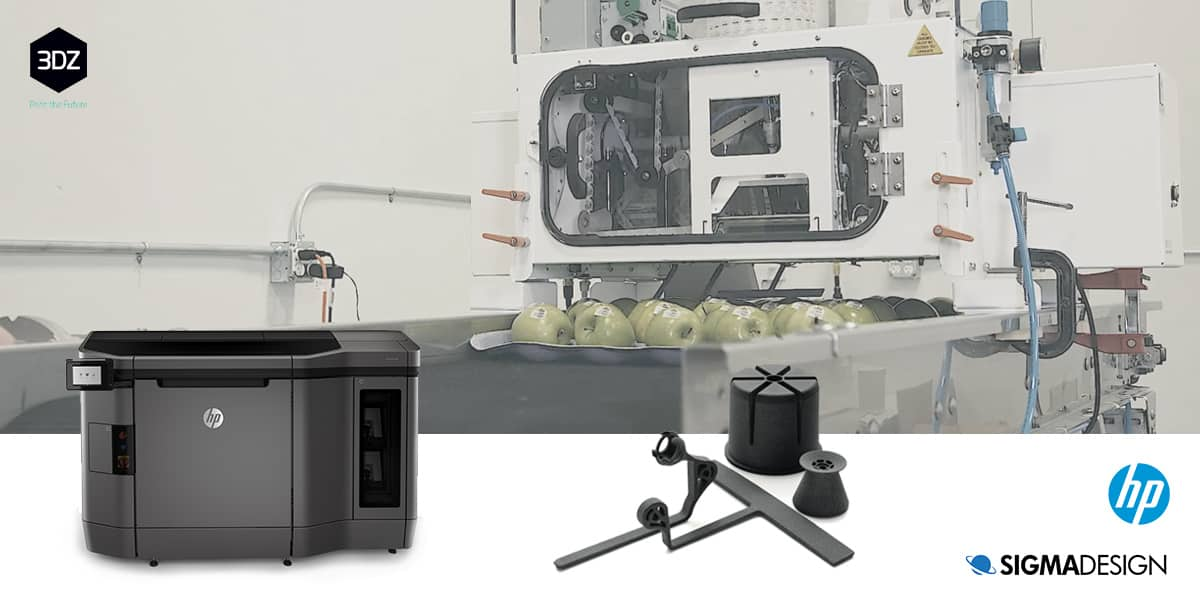 SIGMADESIGN reduces costs and improves design with HP 3D printing