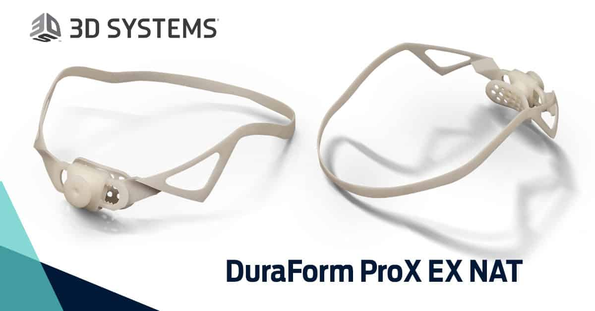 DuraForm ProX EX NAT (SLS): the new plastic material by 3D Systems