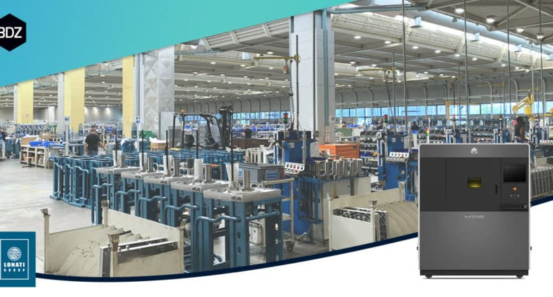 Lonati Group chooses 3D printing, achieving a reduction in average product development costs of 50%.