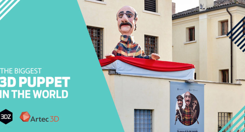 The biggest 3D puppet in the world: it's a record in Castelfranco