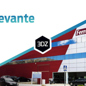 "3DZ lands in the Spanish ""Levante"" area thanks to the Ferrotall Group"