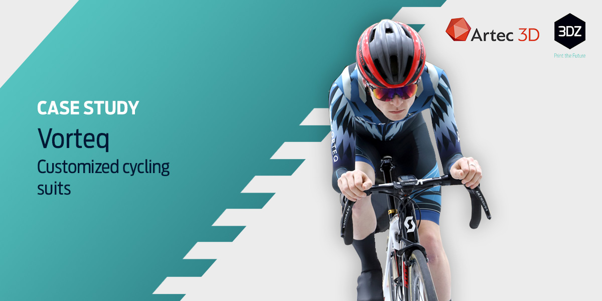 Record-breaking cycling skinsuits in 3D with Artec