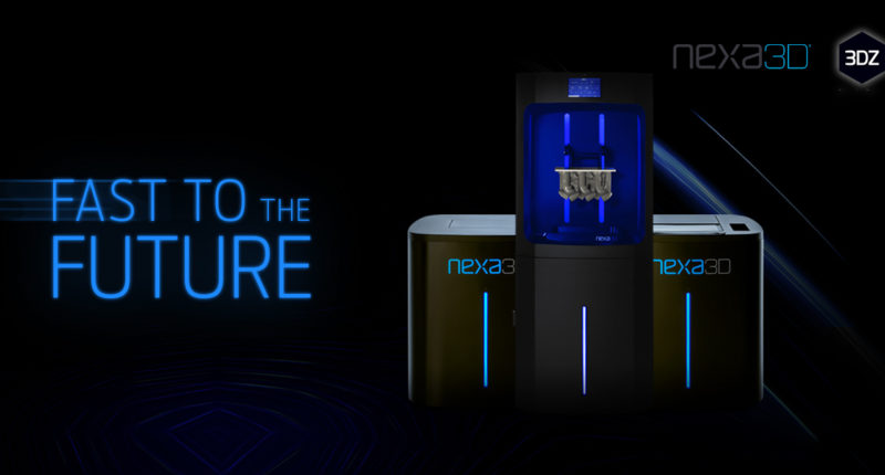 Ultrafast printing, Nexa 3D reduces printing cycles from hours to minutes