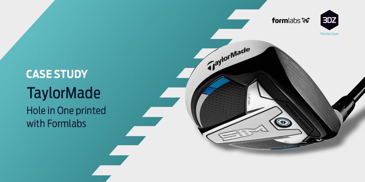 TaylorMade Uses 3D Printing to Produce Game-Changing Golf Clubs