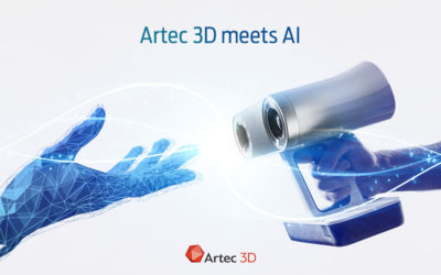 Artec 3D more than doubles the resolution for Eva and Leo 3D scanners
