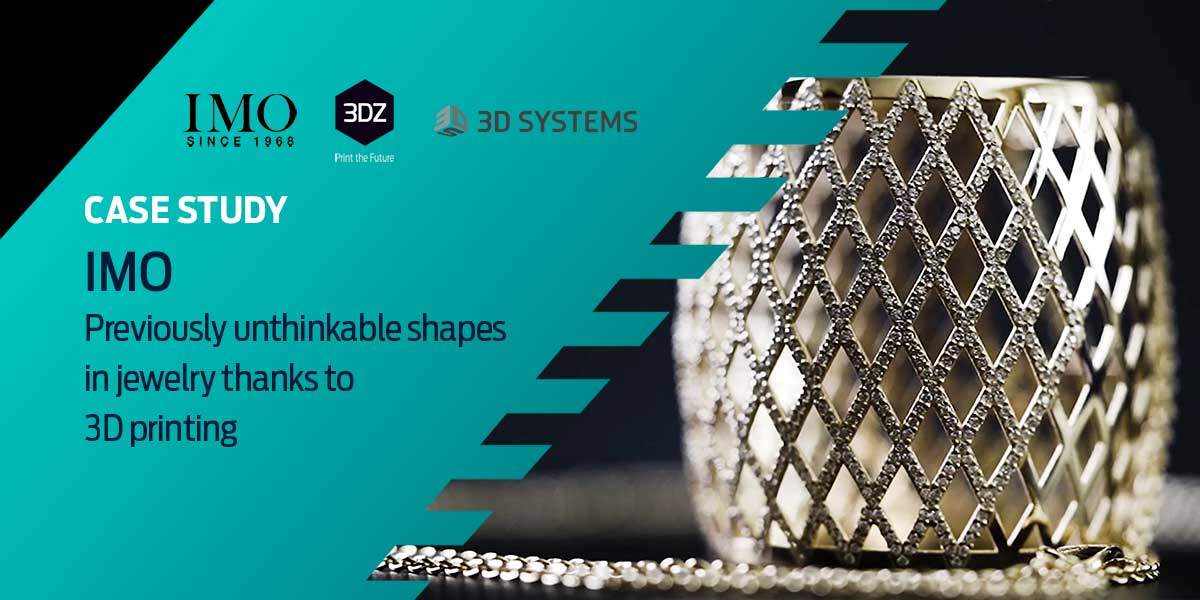 IMO: Previously Unthinkable Shapes in Jewelry Thanks to 3D Printing