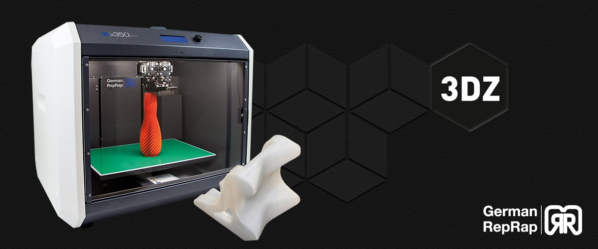 Developing a labelling machine with German RepRap X350