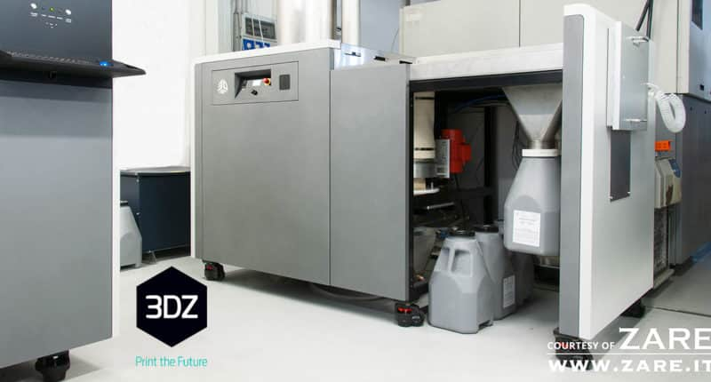 ZARE Installs Italy's First 3D Systems ProX SLS 6100 3D Printer